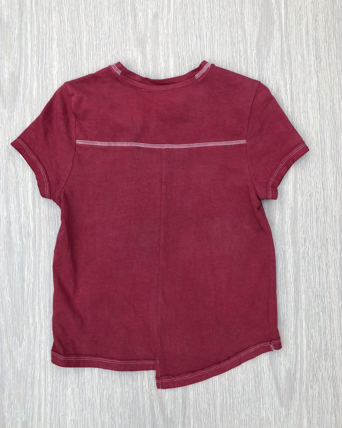 The Story of OKI Deep Red Tee