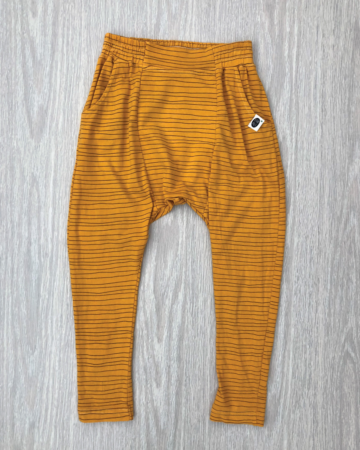 Talei Loosey Striped Pants Tumeric