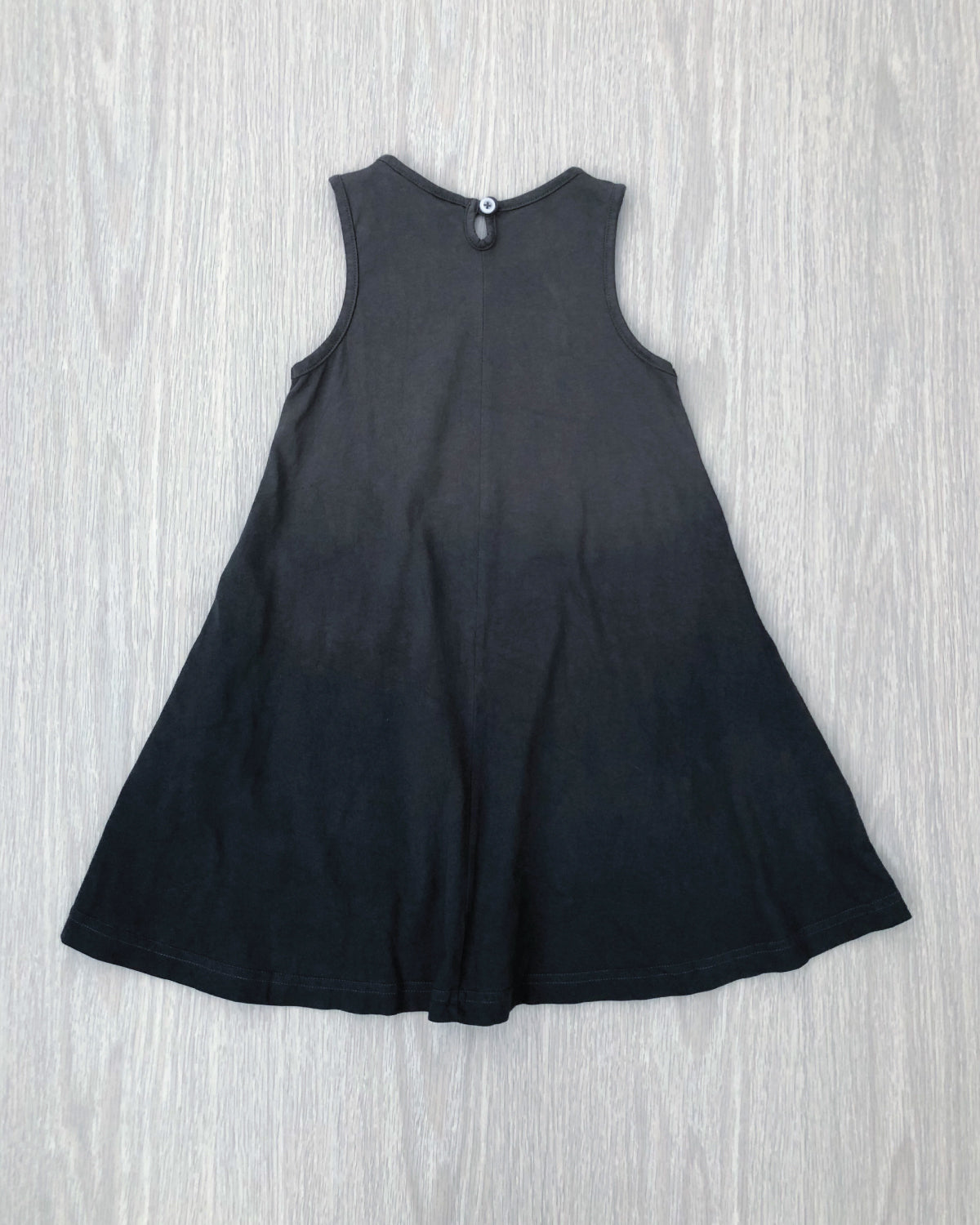 Milla's Swing Dress Charcoal Dip
