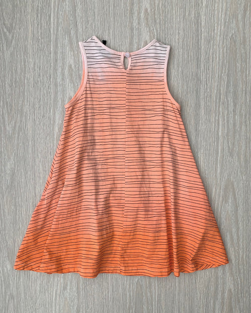 OKI Sunset Swing Dress Coral