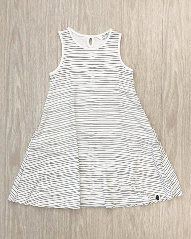 Milla's Striped Swing Dress Lilac