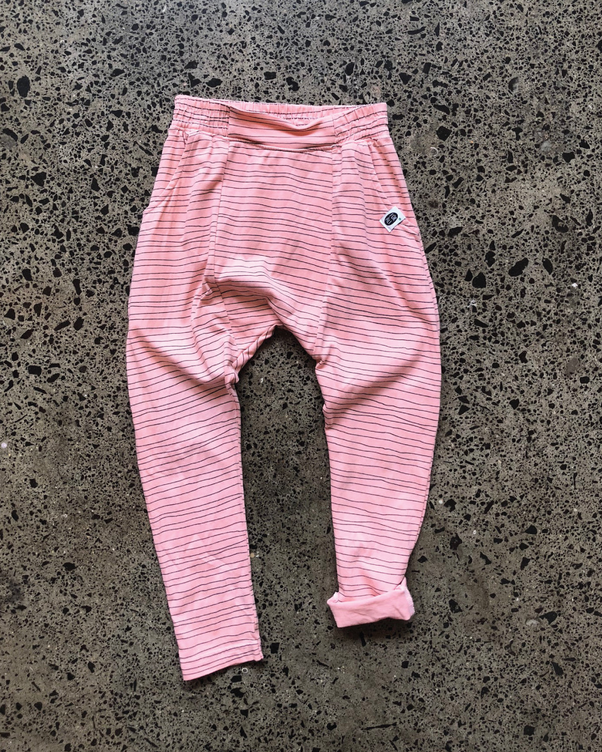 Talei Loosey Striped Pants Peach