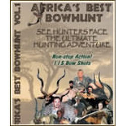 DVD Africa's Best Bowhunts Vol 1