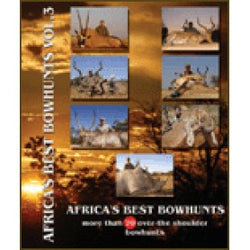 DVD Africa's Best Bowhunts Vol 3