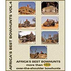 DVD Africa's Best Bowhunts Vol 4