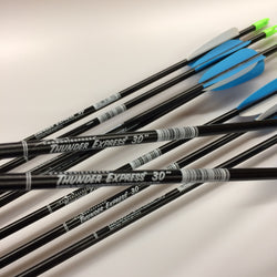 Thunder Express Fiberglass Arrows 30""