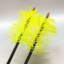 Flu-Flu Feathered Arrows - Pre-Made Arrow