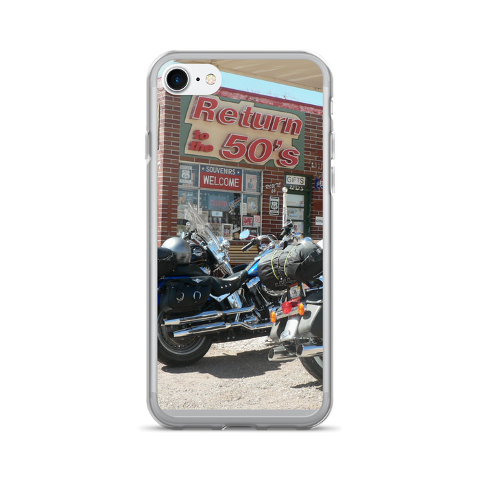 iPhone 7/7 Plus Case - Motorcycle Diner Phone Print - Motorcycle Tours USA