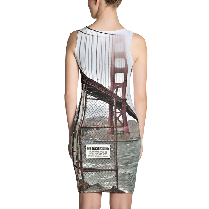 Sublimated dress - California print - Motorcycle Tours USA