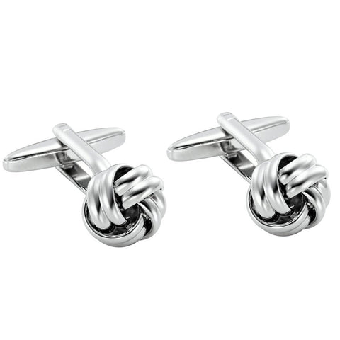 Urban Jewelry Stunning Mens Nautical Knot Stainless Steel Cufflinks