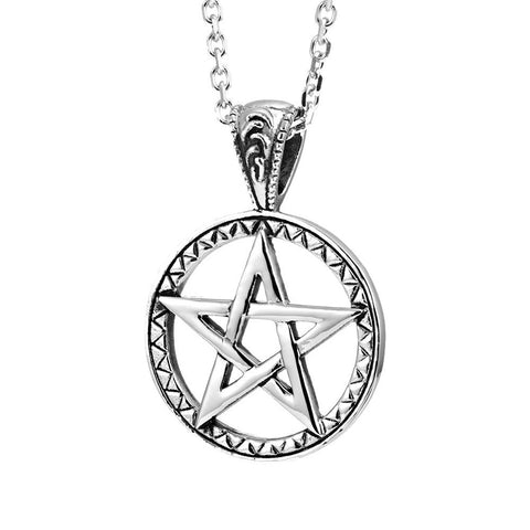 Powerful Pentacle Necklaces Pentagram, Seal of Solomon Pendant (with Branded Gift Box)