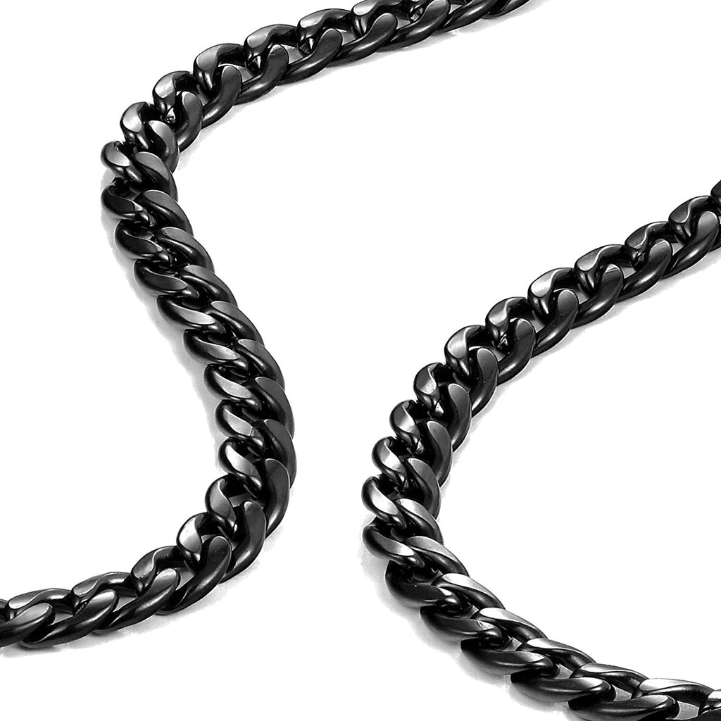 Urban Jewelry Polished Stainless Steel Men's Curb Chain