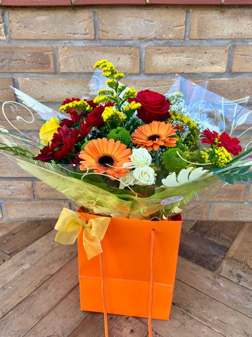 Autumntime Hand Tied Bouquet