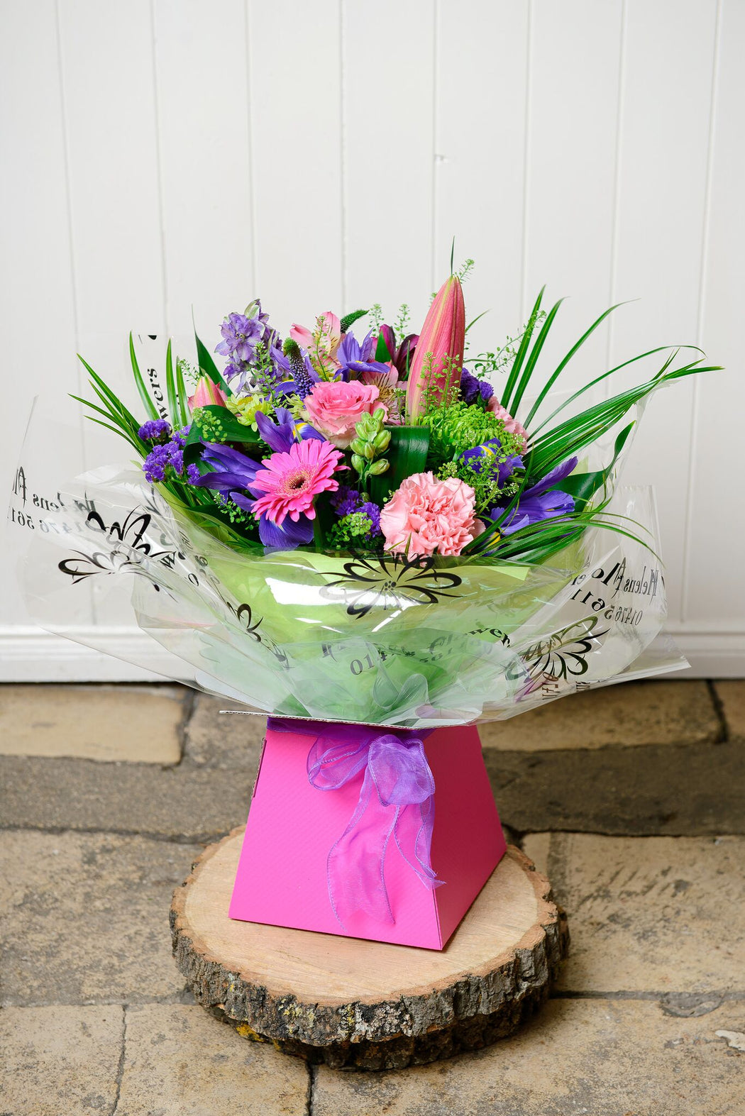 Summertime Hand Tied Bouquet - Helens Flowers Grantham