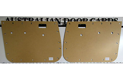 Toyota 80 Series Landcruiser Front Door Cards - Base Model - Ute
