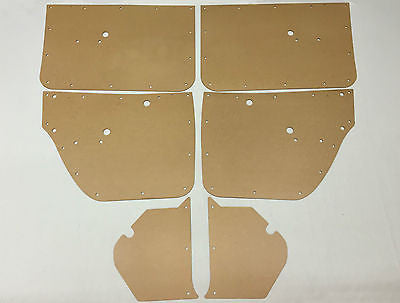 Holden HG HT. New Laser Cut DOOR CARDS & Kick Panels - Sedan