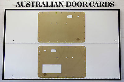 Volkswagen VW BEETLE 1967 - 1977 Front Doors Cards. Blank Trim Panels.