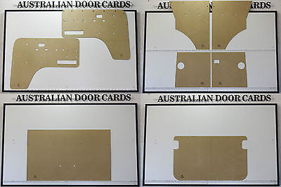 VW Kombi Door Cards 8 Trim Panels. Type 2 Combi Transporter Microbus 1968-79