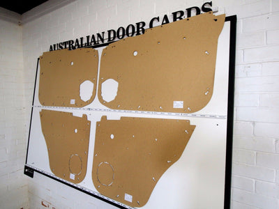 Nissan GU Patrol Door Cards - Standard Window Models