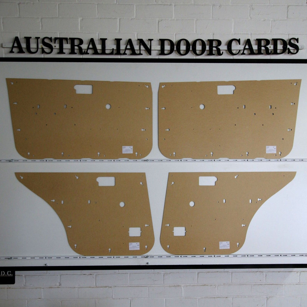 Holden Gemini RB Door Cards - Sedan - 1985-1987 Models Trim Panels