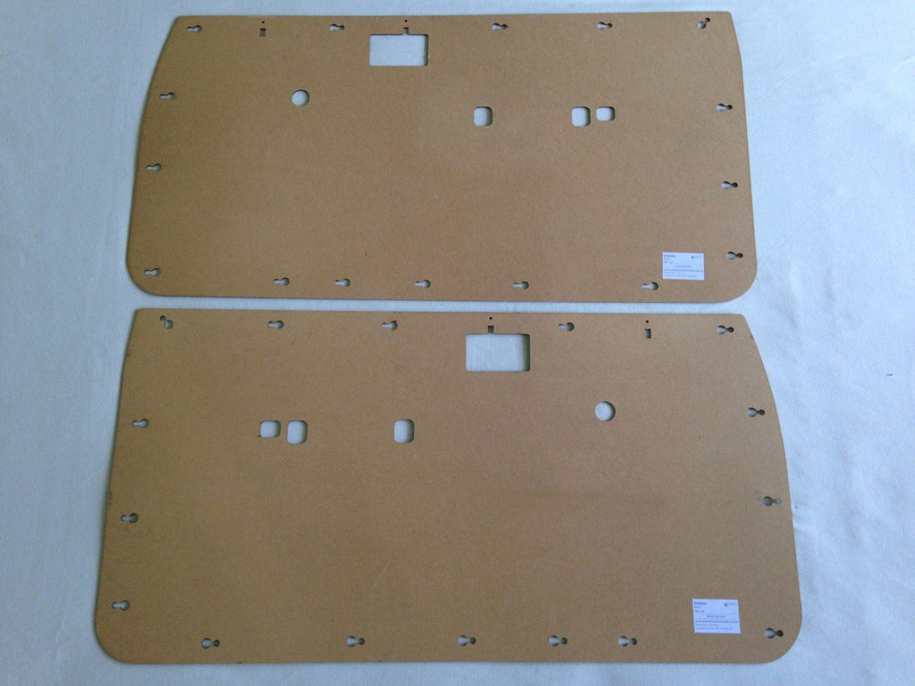 Toyota Hilux Front Door Cards - 5th Generation 1988-1997 Single Cab Ute