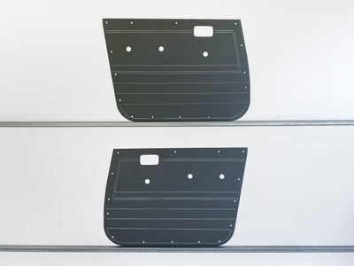 Toyota Landcruiser 80 Series Rugged ABS Door Cards x2 Ute - Manual Window Models - Grey