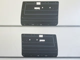 Toyota Landcruiser 70 Series ABS Door Cards - Electric Window Models - 2 Door Model - Grey