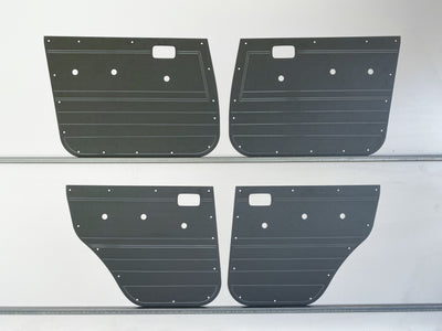 Toyota Landcruiser 80 Series Rugged ABS Door Cards - Manual Window Models - Grey