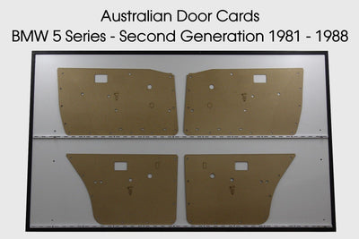 BMW 5 Series Door Cards - Second Generation 1981-1988 E28 - Sedan