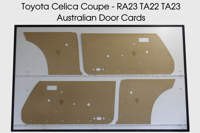 Toyota Celica Door Cards - Coupe Trim Panels