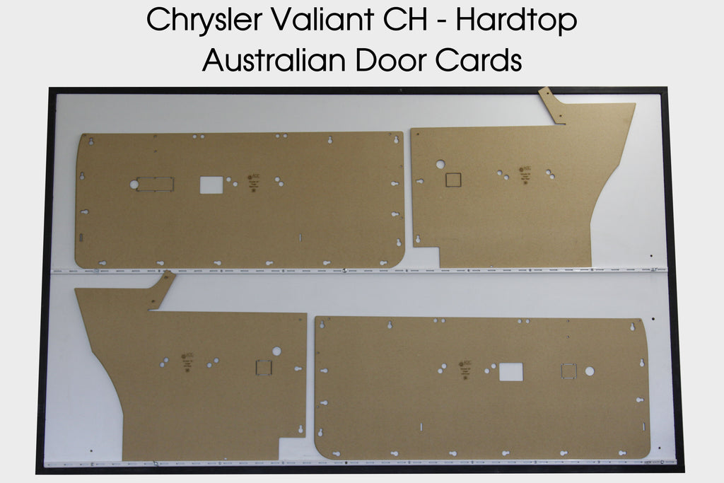 Chrysler Valiant CH Door Cards - Hardtop Coupe