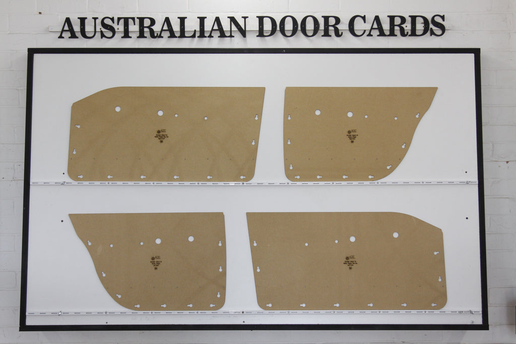 Chrysler Valiant VC Door Cards - Sedan, Wagon Trim Panels