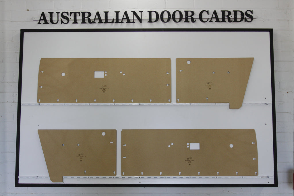 Chrysler Valiant VE, VF, VG Door Cards - Coupe - Regal Hardtop Trim Panels