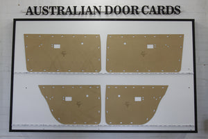 Chrysler Valiant VE, VF, VG Door Cards - Sedan, Wagon