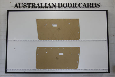 Chrysler Valiant VE, VF, VG Front Door Cards - Sedan, Wagon, Ute