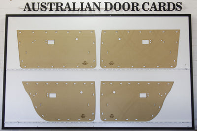 Chrysler Valiant VF, VG VIP Door Cards - Sedan, Wagon