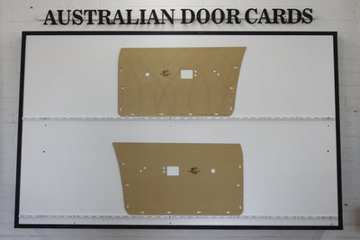 Chrysler Valiant VH, VJ, VK, CL, CM Front Door Cards - Sedan, Wagon, Ute, Van Trim Panels