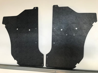Datsun ABS Kick Panels 1200, B110, B120. Ute, Sedan, Wagon, Coupe, Van Without Speakers