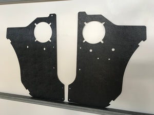Datsun ABS Kick Panels 1200, B110, B120. Ute, Sedan, Wagon, Coupe, Van, Speakers