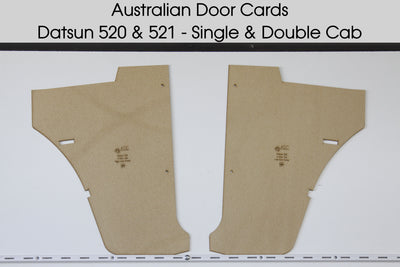 Datsun 520, 521 Kickpanels - Single and Double Cab Ute Trim Panels