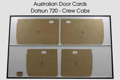 Datsun 720 Door Cards - Crew Cab - Nissan Trim Panels
