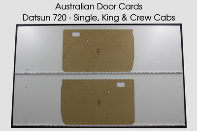 Datsun 720 Door Cards - Single Cab, King Cab, Crew Cab - Nissan