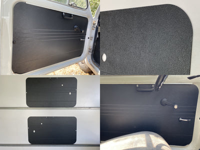 Fiat 500-F 500-L 500-R Door Cards (1965-73) - Rugged and Waterproof ABS