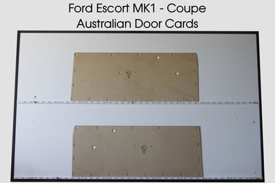 Ford Cortina MK1 Front Door Cards Mark I 1962 - 1966 - Coupe