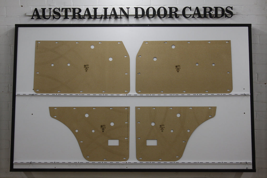 Ford Escort MK1 Door Cards - Sedan, 4 Door Saloon 1970 - 1975 Trim Panels