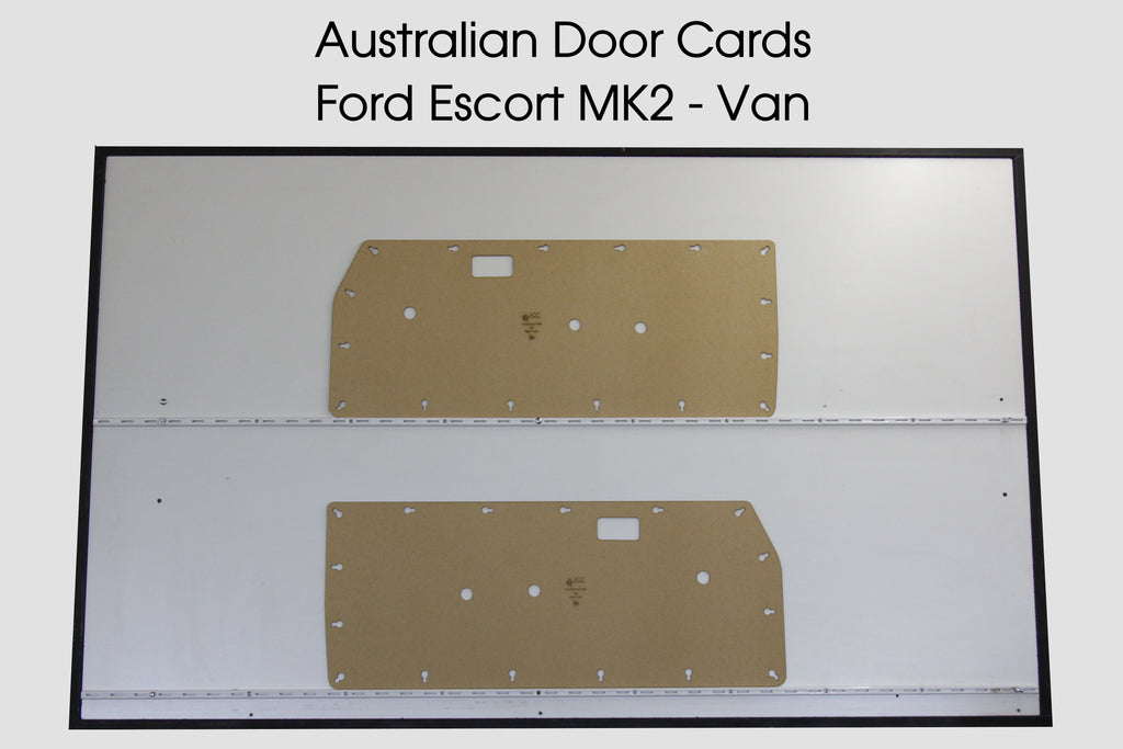 Ford Escort MK2 Door Cards - Van Trim Panels