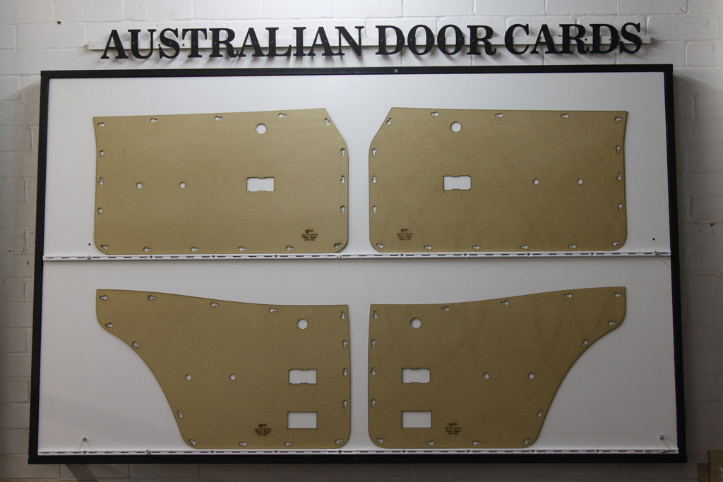 Ford Cortina TC, TD Door Cards - Sedan, Wagon Trim Panels