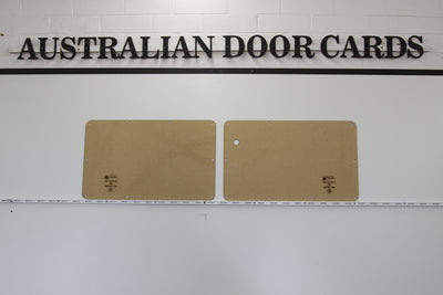 Ford Falcon XA, XB, XC Barn Door Trim Panels - Panel Van Trim Panels