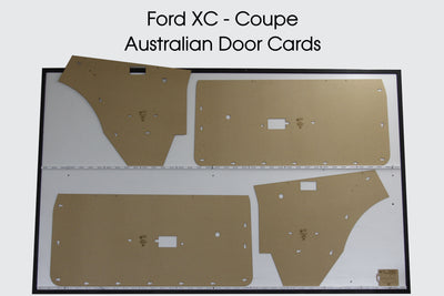 Ford XC Door Cards - Coupe Hardtop