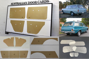 Holden EH, EJ Wagon 17 Piece Blank Trim Kit